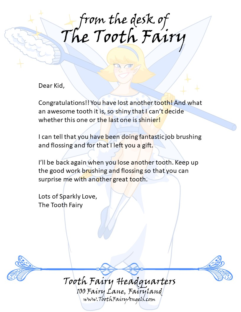 How It Works at Tooth Fairy Angels   Tooth Fairy Angels