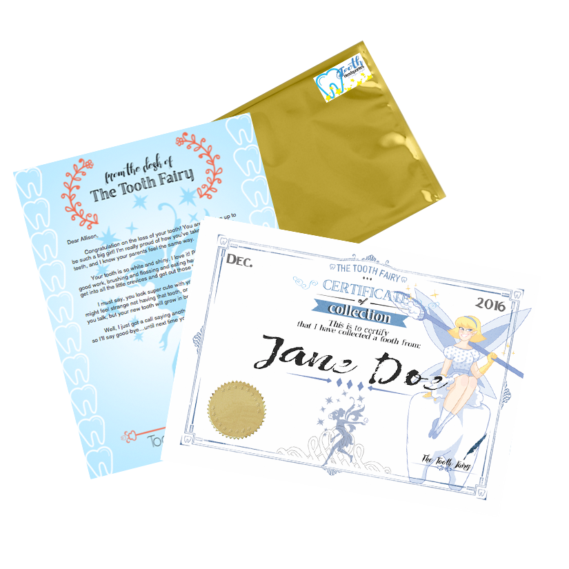 photo regarding Tooth Fairy Stationary referred to as Enamel Fairy Angel Magical Pack