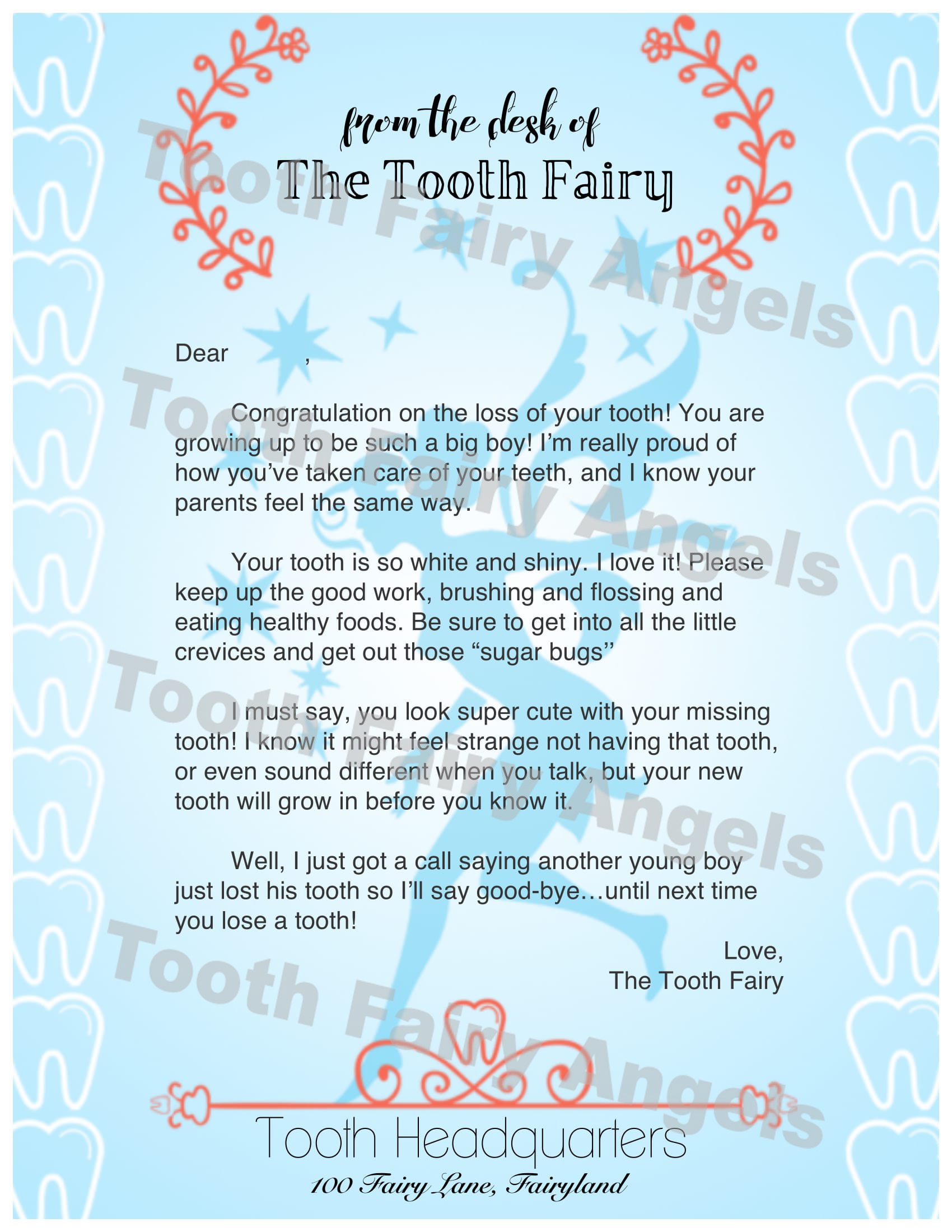 Tooth Just Your Parents Is Fairy The